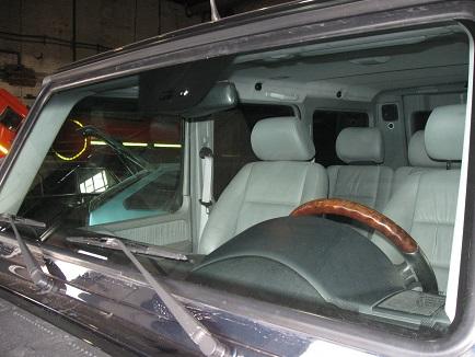 новое лобовое стекло на мерседесе G класса кузов 463